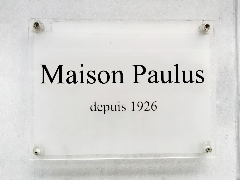 Maison Paulus depuis 1926